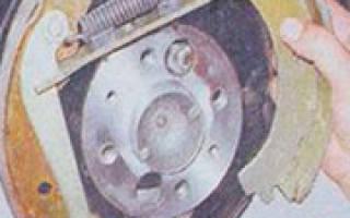 Ваз 2106 замена задних тормозных колодок