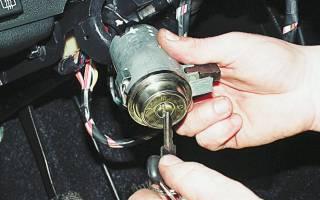 Ваз 2107 замена замка зажигания