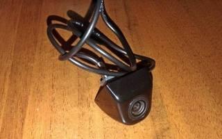 Установка камеры заднего вида на лада гранта