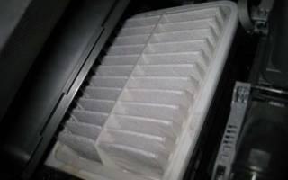 Замена воздушного фильтра тойота королла