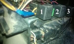 Реле вентилятора ваз 2112