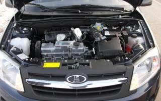 Лада гранта масло в двигатель