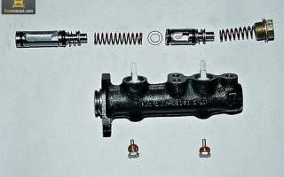 Ваз 2110 замена главного тормозного цилиндра