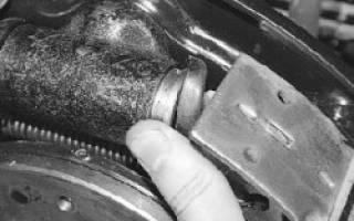 Замена задних тормозных колодок уаз патриот