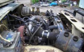 Замена двигателя уаз хантер